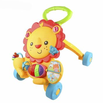 Baby Lion Walker With Mirror