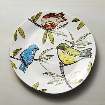 Marin Summer Birds Platter