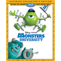 Disney Monsters University 4-Disc Ultimate Collector's Edition | Disney Store