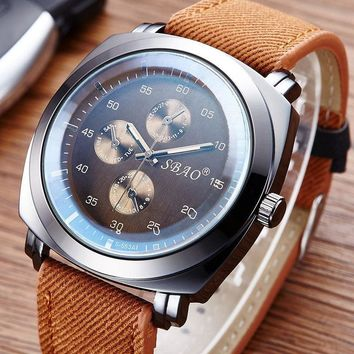 Good Price Great Deal Awesome Stylish New Arrival Designer's Trendy Gift Men Watch Casual Canvas Unisex Quartz Watch [10816522051]