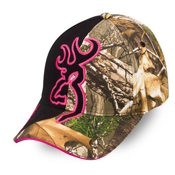 Big Buckmark Hat Realtree Xtra/Fuchsia