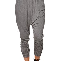 LA Hearts Harem Pants - Womens Pants - Grey -
