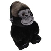 "9"" Stuffed Gorilla Plush Belly Buddies Animal Kingdom Collection"