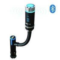 Excelvan Wireless Bluetooth FM Transmitter with Car Charger Adapter Cigarette Lighter for Apple iPhone 6, 6 Plus, 5S, 5C, 5, 4S, iPad Air Mini 2 / Samsung Galaxy S6 Edge,S6 S5, S4, S3, Note 4, 3, 2, Nexus 5, 4 / HTC One 2 (M8 M9) / Blackberry Z10 / and Oth