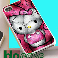 Hello Kitty For Iphone 4/4s, iPhone 5/5s, iPhone 5C, iphone 6, and iPhone 6 Plus Case
