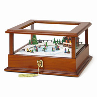 Showcase Music Box - Skaters - Perfect Christmas Gift
