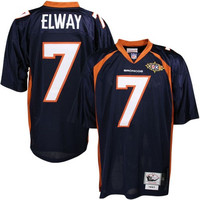 John Elway Denver Broncos Mitchell & Ness Authentic Throwback Jersey – Navy Blue