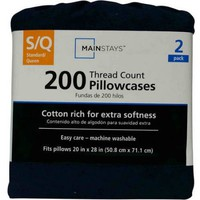 Mainstays 200 Thread Count Pillowcase Set - Walmart.com
