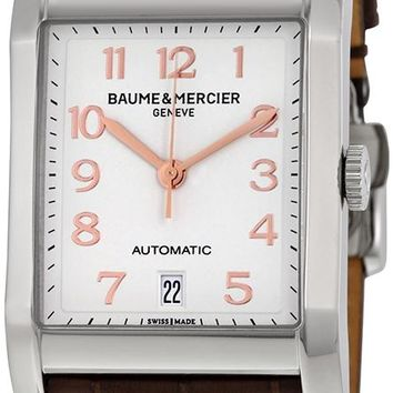 Baume and Mercier Classima Leather Automatic Watch MOA10156