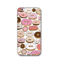 Doughnut Case for iPhone 7 7Plus & iPhone se 5s 6 6 Plus Best Protection Cover-0323
