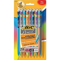 BIC® Mechanical Pencils with Assorted Colorful Barrels, .9mm, 24\/Pack | Staples®