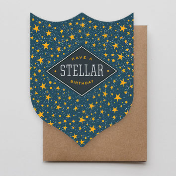 Stellar Birthday Badge