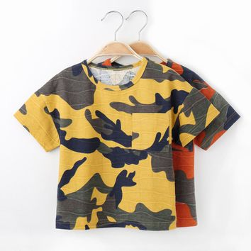 Boys  Camouflage T-shirt