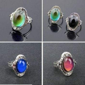 ESBONEJ OPAL FERRIE - 1pcs New Vintage Mood Change Ring