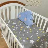 Bedding Sheet 2016 New Unisex Baby Crib Cute Cartoon Cot Bed Junior Bed Baby Bumper Bed Fitted sheets