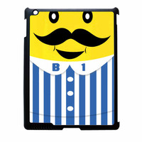Bananas iPhone Banana Mustache iPad 2 Case