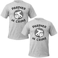Partners in Crime Couple T-shirt