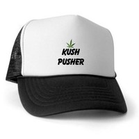 KUSH PUSHER Trucker Hat> KUSH PUSHER> 420 Gear Stop