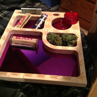 Free Shipping! Tobacco/Marijuana Joint Rolling Tray
