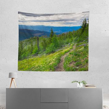 Mountain Trail Pacific Northwest Wall Hanging