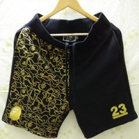 Men's Fashion Print Embroidery Men High Quality Casual Shorts [10207416327]