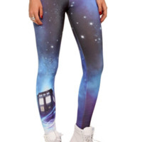 Doctor Who Cosmic TARDIS Leggings
