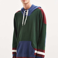 UO Marshall Hockey Pullover Hoodie Sweatshirt | Urban Outfitters