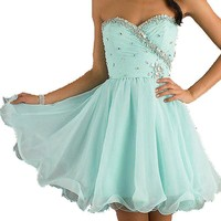 NEW Short Cocktail Bridal Wedding Party Ball Prom Dresses Figure Color Free Size