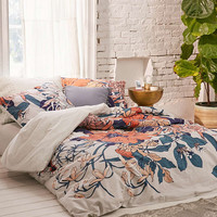 Botanical Scarf Duvet Cover - Urban Outfitters