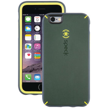 SPECK 73801-5049 iPhone(R) 6/6s MightyShell(TM) Case (Dusty Green/Antifreeze Yellow/Charcoal Gray)