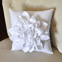 White Decorative Pillow