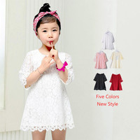 Girls Lace Princess Dress