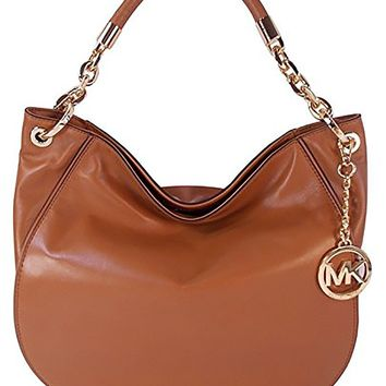 Michael Kors Leather Stanthorpe Shoulder Bag Purse
