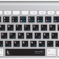 Japanese Bilingual Keyboard Sticker