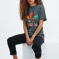 Adidas X Pharrell Supercolor Tee in Khaki - Urban Outfitters