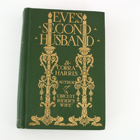 Antique Book Victorian Book Eves Second Husband by WhimzyThyme
