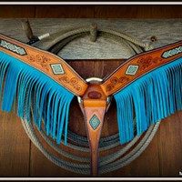 Beaded Fringed Breast Collar