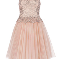 TAMMIE - Lace bodice dress - Nude Pink | Womens | Ted Baker UK