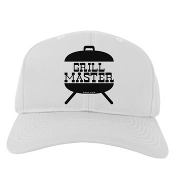 Grill Master Grill Design Adult Baseball Cap Hat