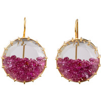 Renee Lewis Natural Ruby Shake Earrings at Barneys.com