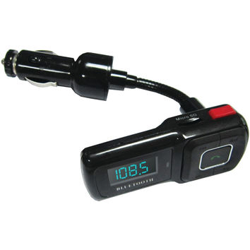 Supersonic Bluetooth Car Kit With Fm Transmitter