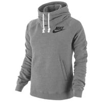 Nike Rally Funnel Neck PO Hoodie - Women's at Footaction