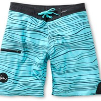 Imperial Motion Hanger Turquoise & Black 20 Board Shorts