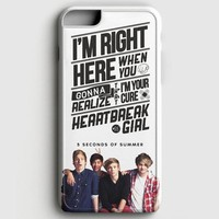 5 Seconds Of Summer Watercolor iPhone 8 Case
