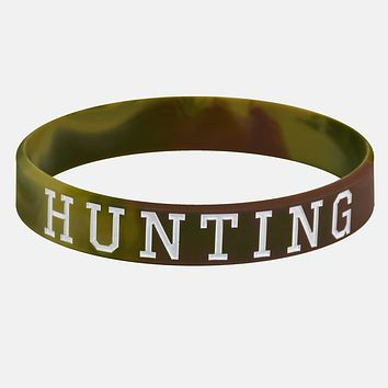 Hunting Motivational Wristband