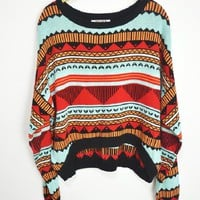 Pope wind triangle totem sweater  JCHH