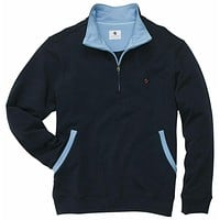 Thomas Pullover in Navy by Southern Proper - FINAL SALE