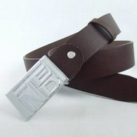 Cheap FENDI Genuine Leather belts woman's and men's Business Waistband Belt Luxury Casual fashion Belt sale-843368