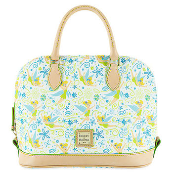 Disney Tinker Bell Floral Satchel Bag by Dooney & Bourke New with Tags