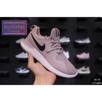 Ready Stock NIKE AIR TESSEN London 4 Dark pink sports shoes men and women